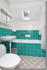 WC-badrum övre plan